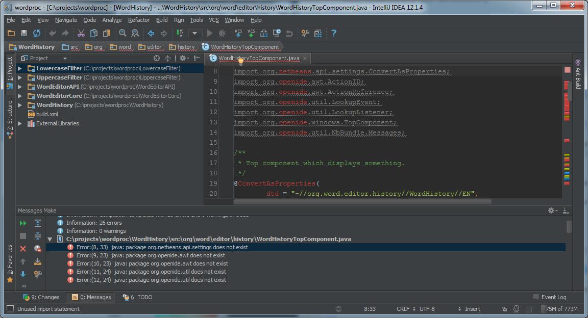 Programming NetBeans Platform with IntelliJ IDEA | OCI