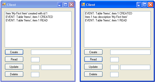 client1 reference client 2 database