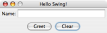 Hello Swing GUI