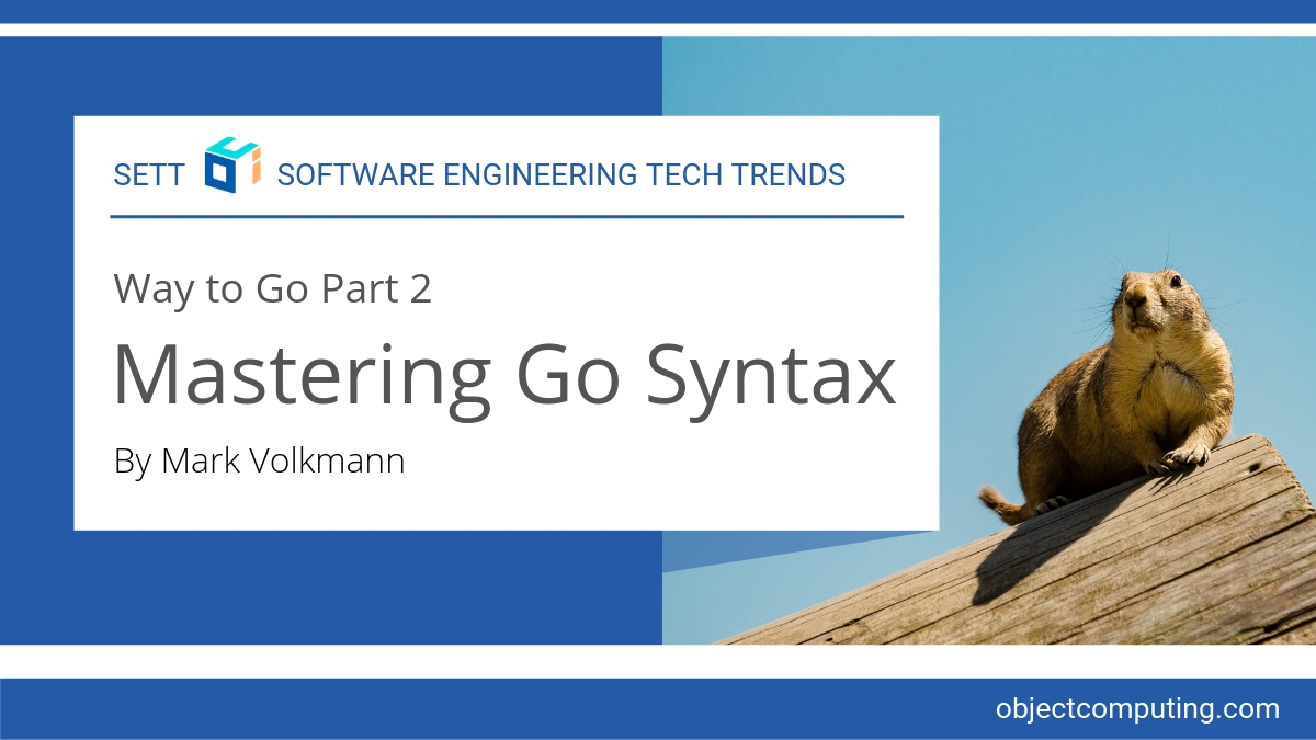 Way to Go Part 2: Mastering Go Syntax | OCI