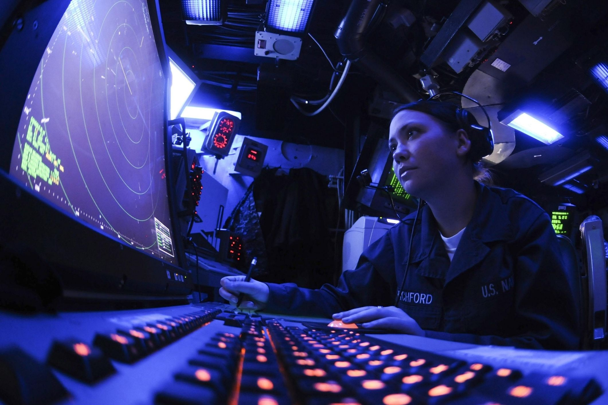 case study navy data compression submarine communications