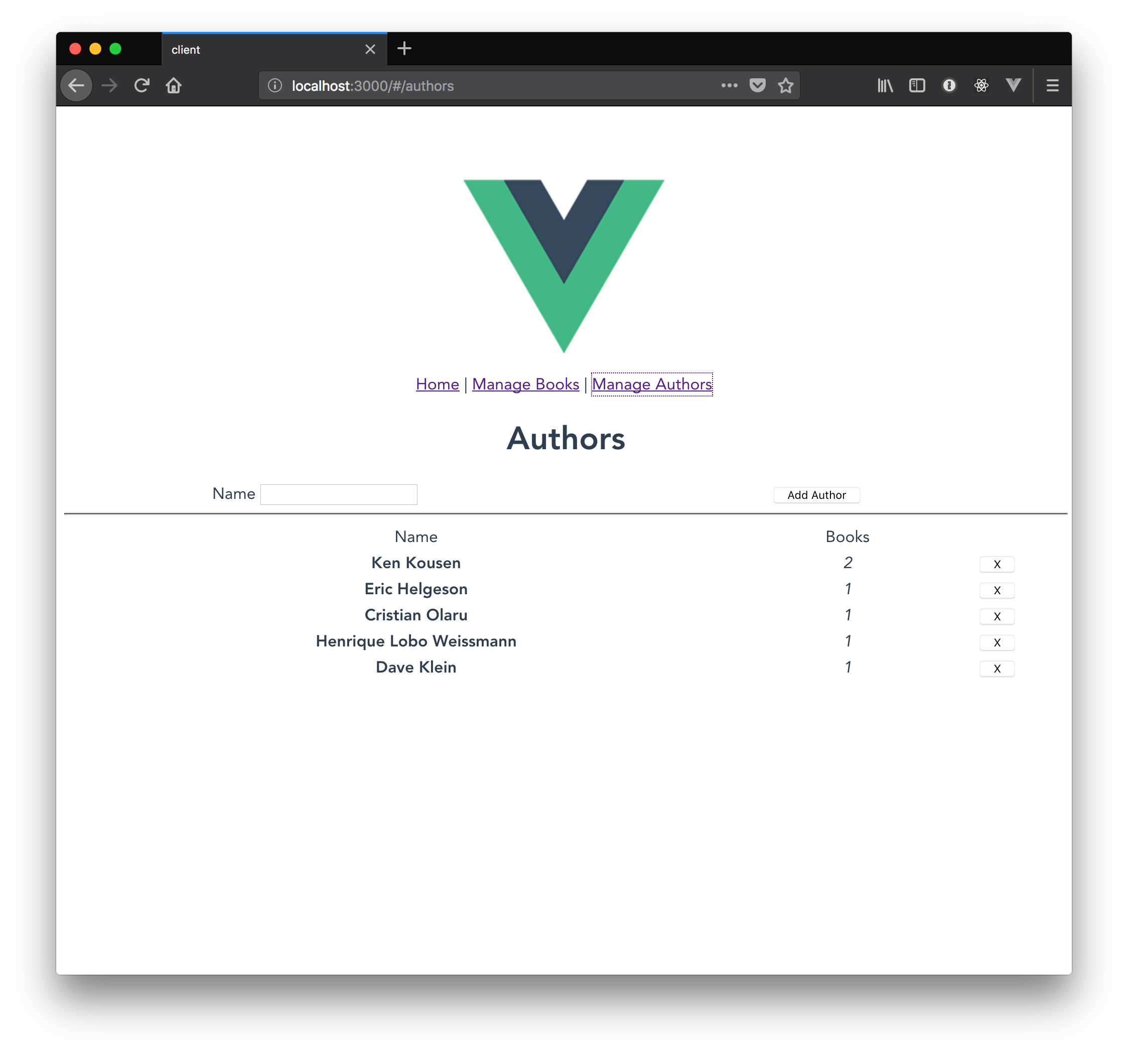 Room with a Vue Part 2: Building an App with Vue js | OCI