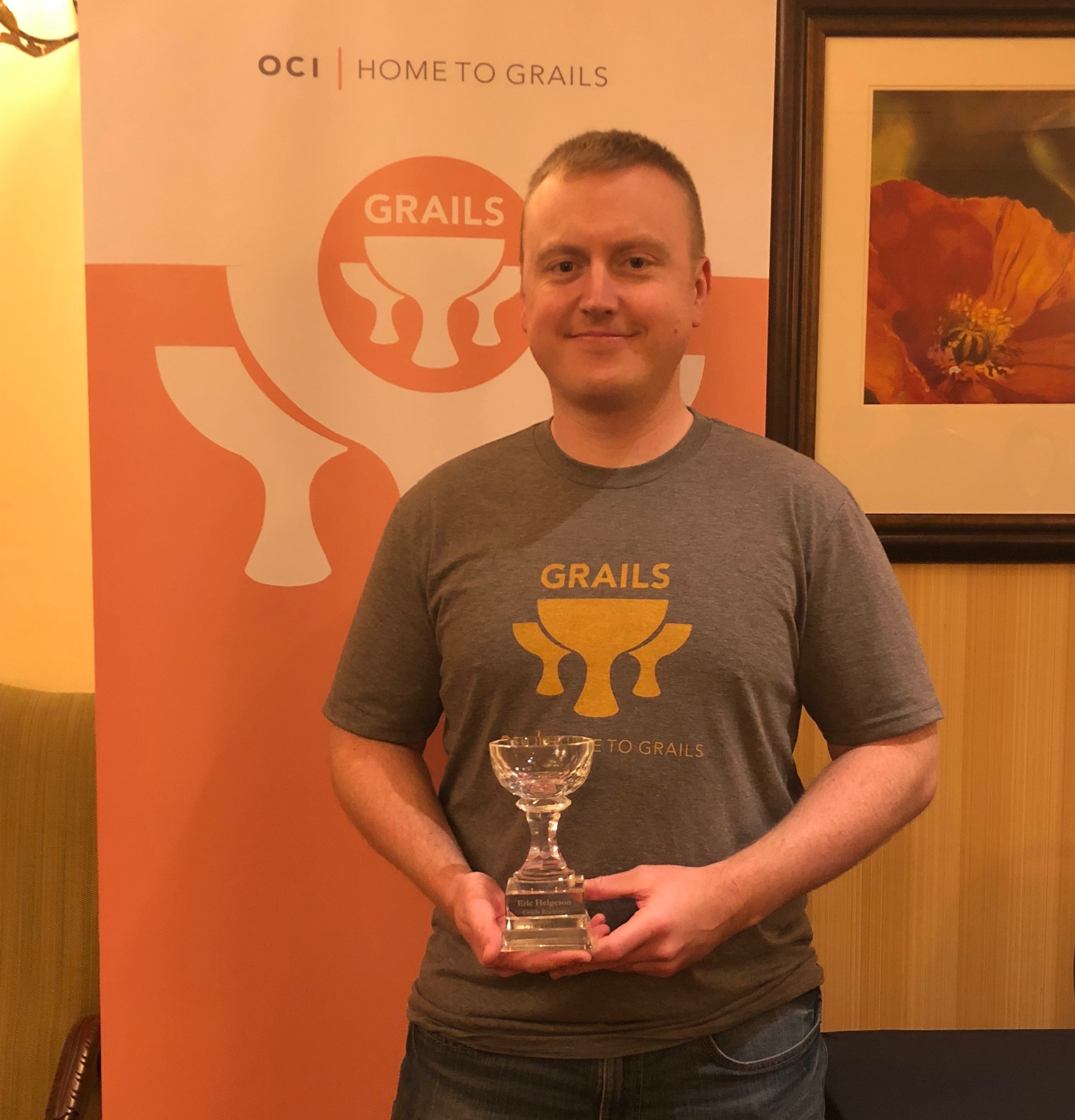 Eric Helgeson: Winner of the 2017 Grails Community Rock Star award
