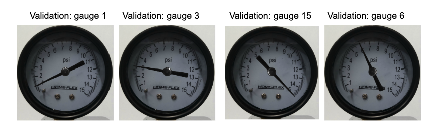 Validation data samples