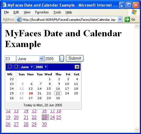 My Faces Date & Calendar (2)