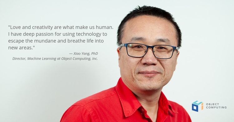 Dr. Xiao Yang Named Director, Machine Learning at Object Computing
