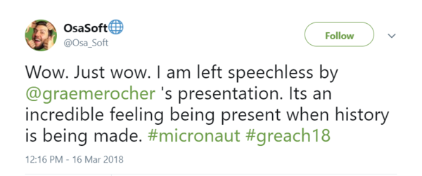 Response to Micronaut announcement at Greach