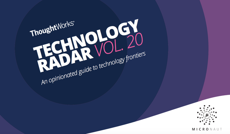 Micronaut Featured in ThoughtWorks Technology Radar